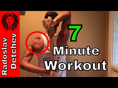 How to Get Rid of Shoulder Pain - 7 Minute Workout