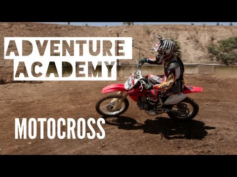 Adventure Academy - Learning to Motocross