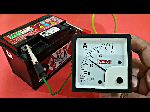 How to Test Activa,s Battery (Voltage & Ampere)