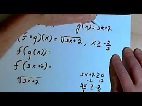 The Domain of a Composition of Functions 143-2.6.2.b
