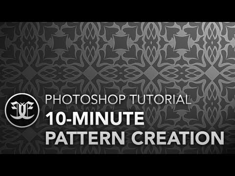 Photoshop Tutorial: 10-Minute Pattern Creation