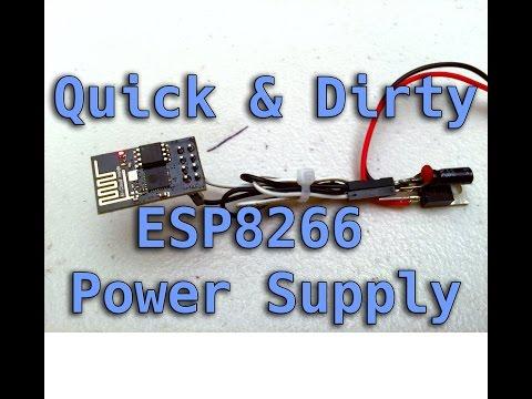 Quick & Dirty ESP8266 Power Supply