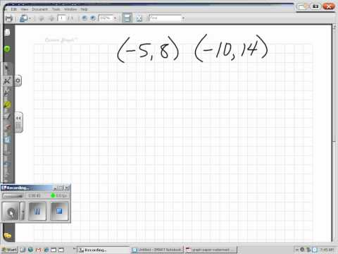 Math 1513, 2.1b, Find the Distance Between Two Points on a Graph.wmv