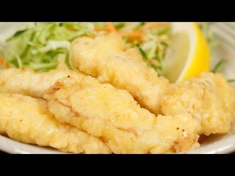 Toriten (Chicken Tempura Recipe) とり天の作り方 レシピ