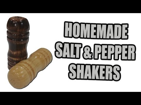 How to Made Salt and Pepper Shakers - Gift Idea