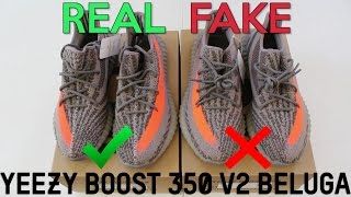 4a2b1100e0b Authentic Adidas Yeezy Boost Sply 350 V2 Grey Orange Real VS