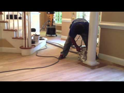 Dust Free Sanding | Dust Less Refinishing Hardwood Floors in Cary, Raleigh and the Triangle
