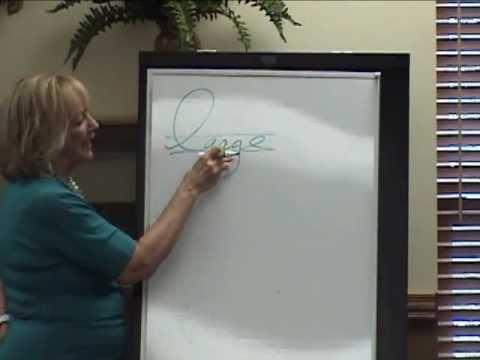 NALPI - Handwriting analysis - by expert Sylvia Kessler - 2012