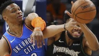 """Russell Westbrook FIRES At Karl Anthony Towns! """"Get To The F'ing Playoffs Before Speaking To Me""""!"""