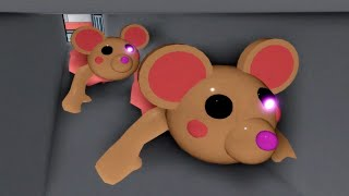 Playing as Mousy, Clowny, Badgy! Roblox Piggy NEW