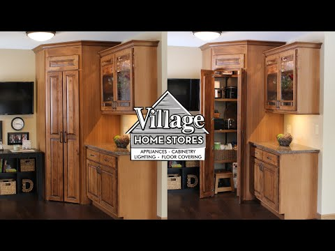 Walk-in Pantry in Kitchen Corner
