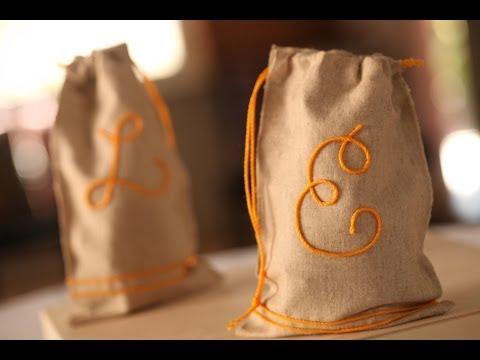 Robert's No-Sew Favor Bags