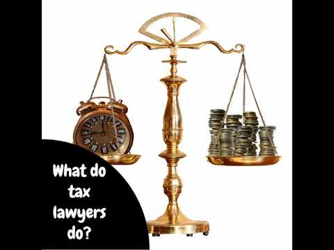 👨🏽‍⚖️What does a tax lawyer do? 👨🏽‍⚖️