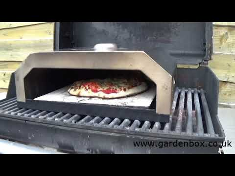 Firebox BBQ Pizza Oven - Cook a Pizza in 3 Minutes on your BBQ!