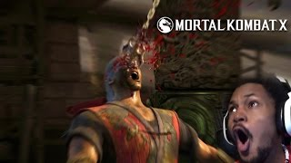 LIU KANG IS DEAD.. AGAIN!! | Mortal Kombat X #10