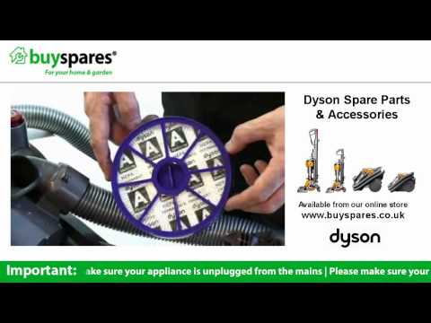 How To Remove the Filters From a Dyson DC19 Vacuum Cleaner