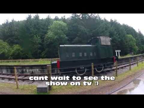 ch4 train documentary seen on the great glen way, 27 6 2017