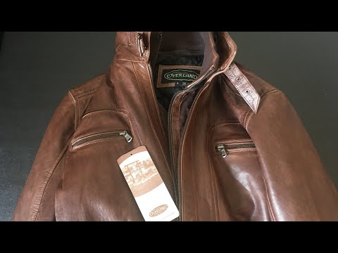 High quality leather jacket for best price, Overland