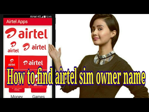 how to know airtel sim owner name