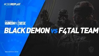 CBG REPLAY #7 - Black Demon VS F4TAL Team
