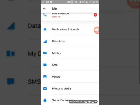 How to change notification sound on Facebook messenger