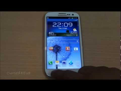 Samsung Galaxy S3 - Omega ROM - How to Install - Cursed4Eva