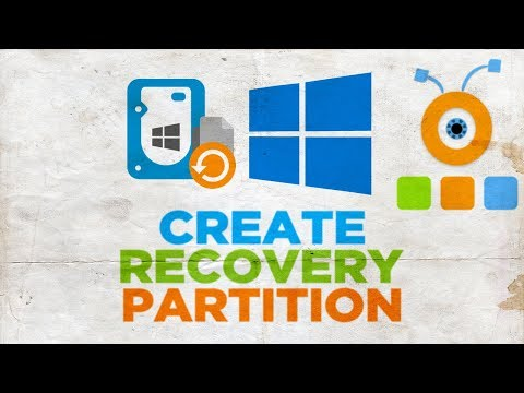 How to Create a Recovery Partition in Windows 10