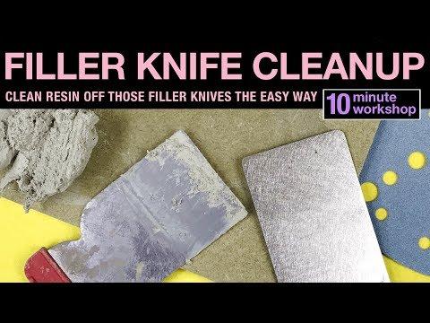 Filler knife cleanup #162