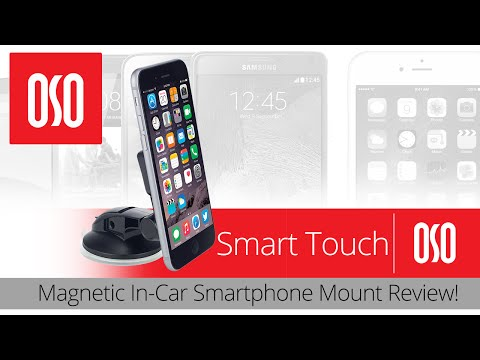 OSOmount Smart Touch Magnetic In-Car Smartphone Mount Review!