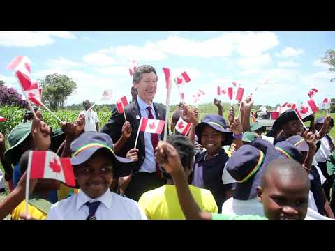 Sustain: Canada at 150 Tree Planting in Zimbabwe