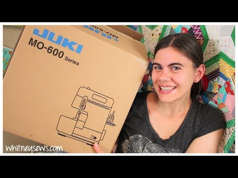 New Serger Unboxing! Whitney Sews