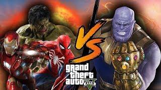 Avengers vs Thanos - GTA 5 Mod Indonesia