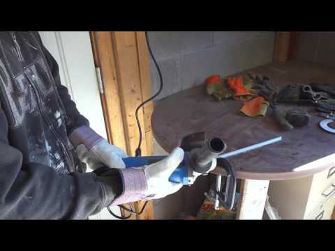 How To Cut Metal With An Angle Grinder-Tutorial