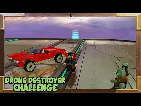 LEGO Marvel Super Heroes 2 Drone Destroyer Challenge