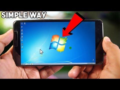 Make Your Android Phone Look Like Windows XP/7/8/10 Desktop | Easy Method (100% Working)
