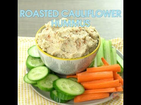 Roasted Cauliflower Hummus - You must try!