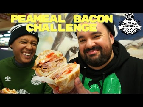 Canada Did WHAT To Bacon?!?!?! Peameal Bacon Sandwich Challenge