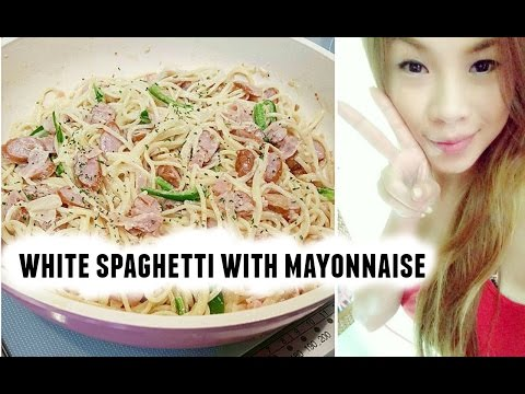 CookWithMeJP: White Spaghetti with Mayonnaise