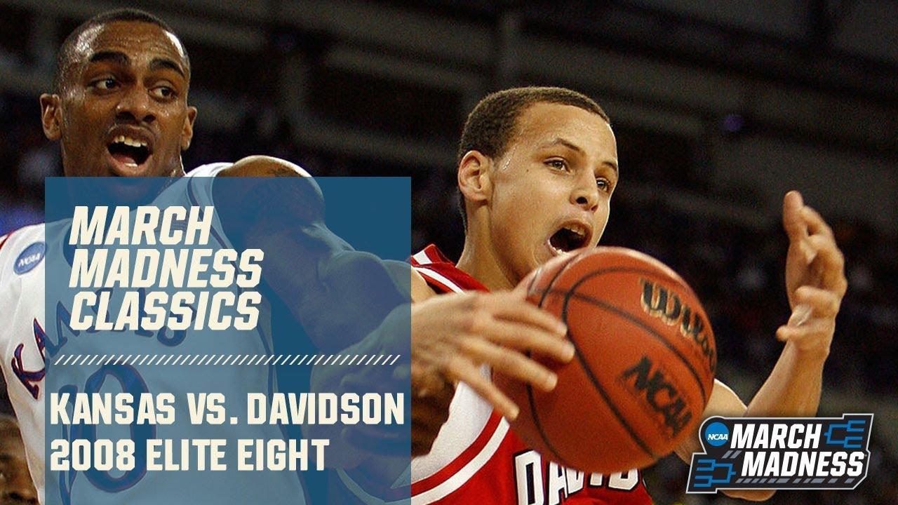 Kansas vs. Davidson: 2008 Elite Eight   FULL GAME