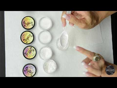 ♡ Tammy Taylor DIY Mixing Glitter Ratios-Add Bling to Polish, Acrylic and Gel