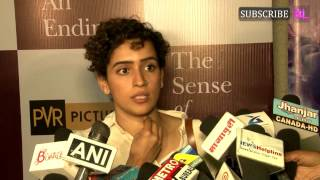 Sanya Malhotra at special screening of Hollywood film The Sense of an Ending