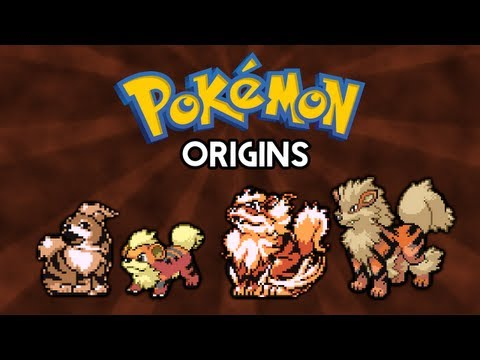Pokemon Origins | Growlithe and Arcanine