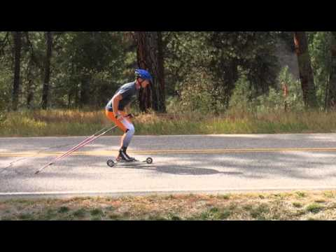 Skate Ski Hop Drill & Progression (XC, Nordic, Cross Country Skiing)
