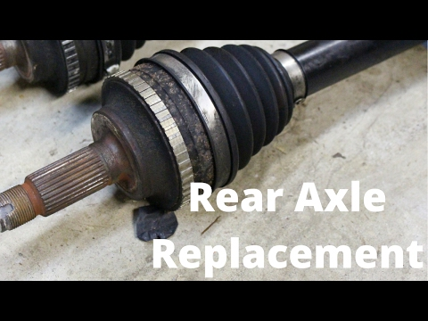 Rear Axle Replacement | Honda S2000