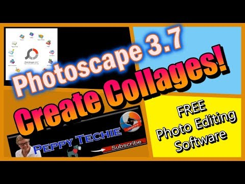 Photoscape Photo Editor: Make Collages! FREE Photoscape Software! PC & MAC