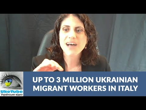 Up to 3 million Ukrainian migrant workers in Italy