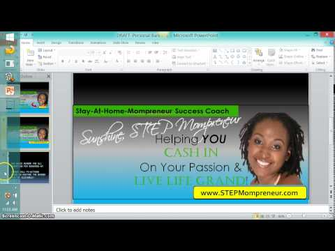 FREE Training-How to Make a Banner Using PowerPoint {How to Make a Banner}