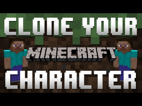 Minecraft (Xbox 360): How to Clone Your Character | Split Screen