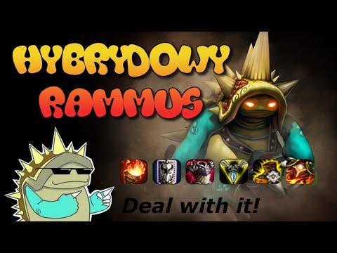 League of Legends: Nowa meta!  #02 - Hybrydowy Rammus poradnik!