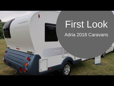 First Look   Adria 2018 Caravans